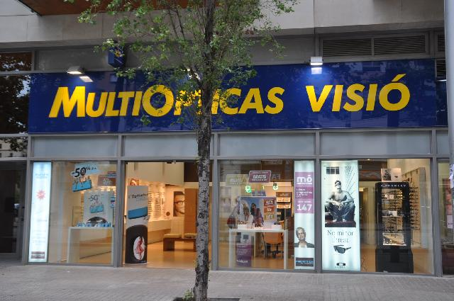 Un magasin MultiOpticas