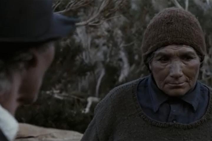 Digna Quispé, nièce des vraies soeurs Quispé, joue dans le film.