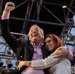 Nestor et Cristina Kirchner en 2007