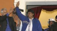 Le président bolivien Evo Morales réélu pour un troisième mandat