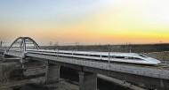 Le TGV chinois sur la ligne Pékin-Canton inaugurée fin 2012