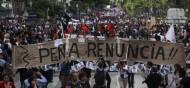 Manifestations à Mexico après l'annonce de la mort des 43 étudiants