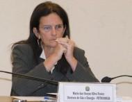 La patronne de Petrobras Graça Foster ,  démissionnaire