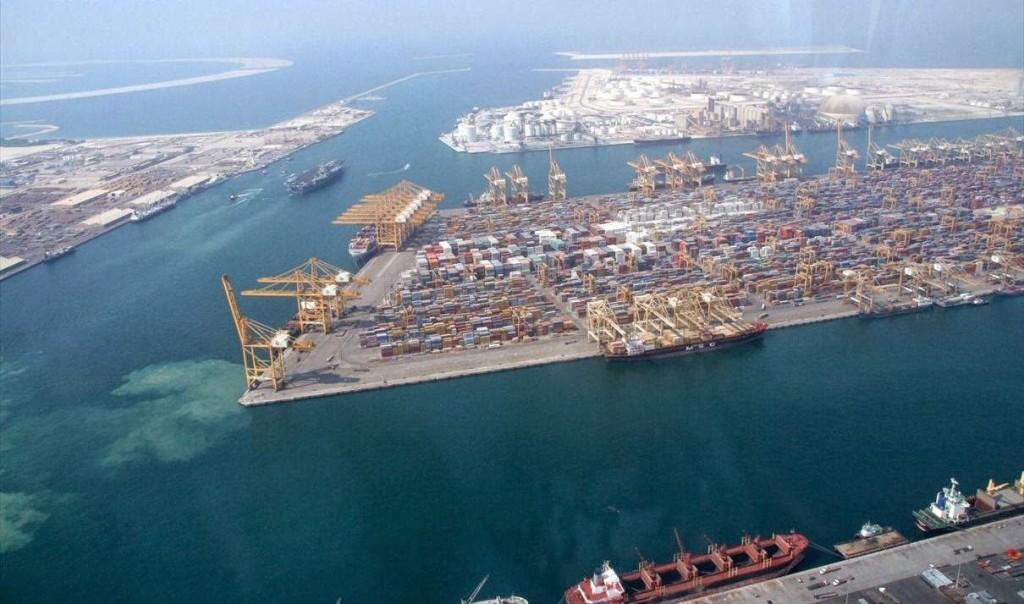 Vue aérienne du port de Mariel