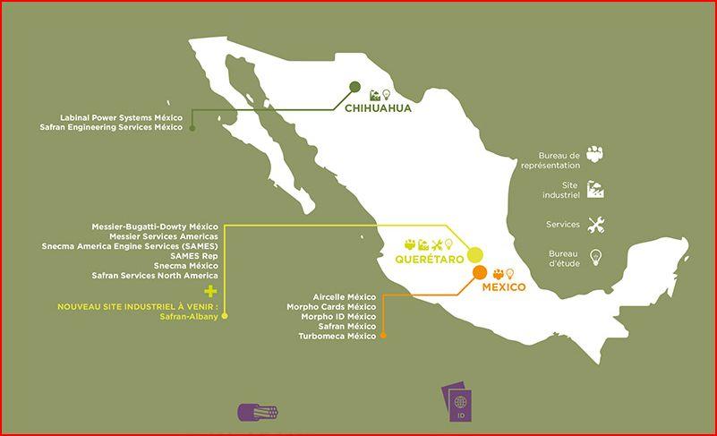 Avec 6000 salariés, Safran est le premier employeur aéronautique du Mexique
