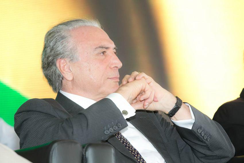 Michel Temer, président du Brésil par interim